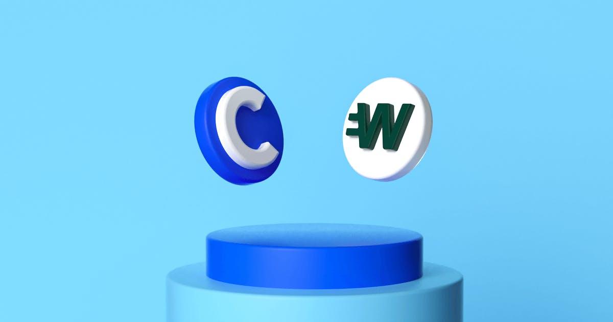Coinbase Card vs Wirex Card